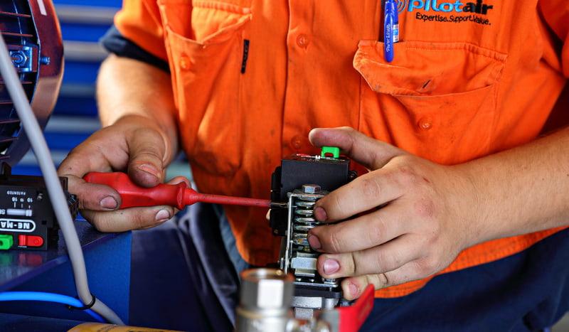 Regular service and maintenance