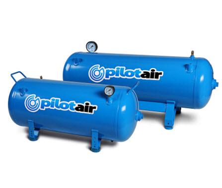 Pilot 300200 Horizontal Compressed Air Storage Tank