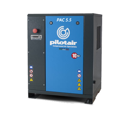 Pilot PAC Industrial 4-5.5KW Rotary Screw