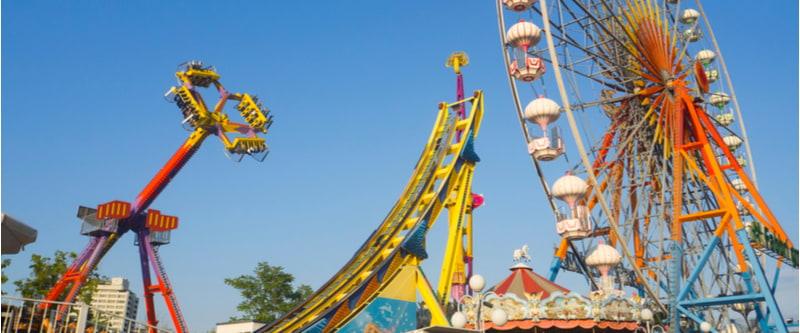 Amusement park and theme park