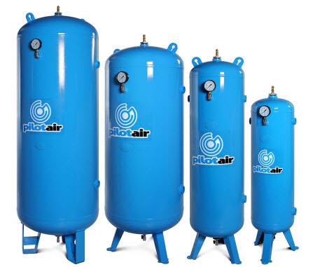 Pilot 3100600 Vertical Compressed Air Storage Tank