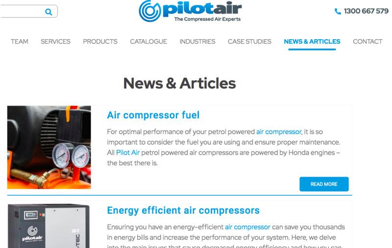 Pilot Air News and articles