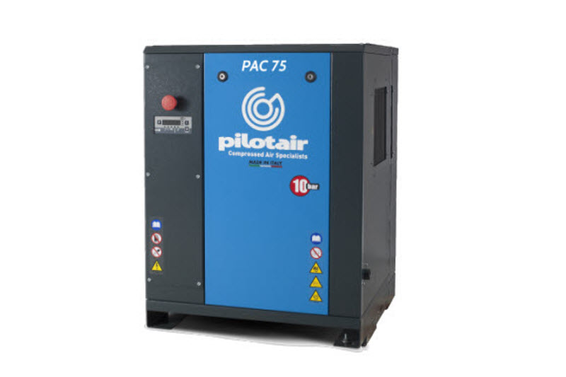 Oil injected air compressor product