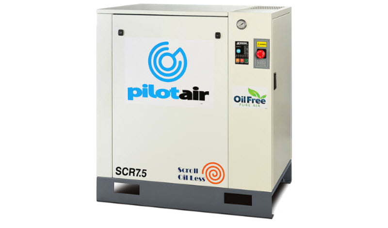 Oil free air compressor product